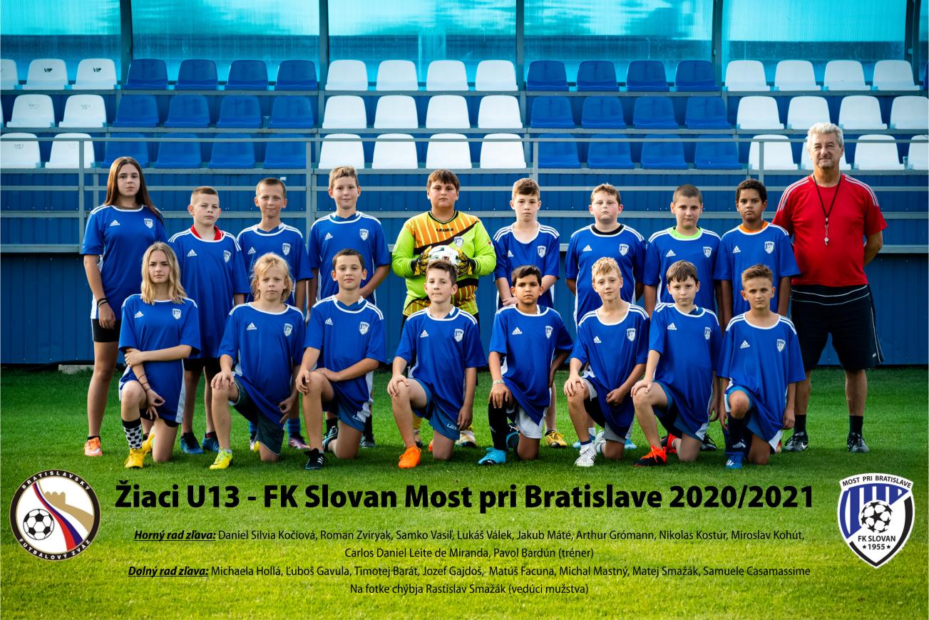 Žiaci U13 sezona 2020-2021